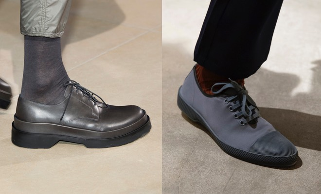 abbastanza Uomo, con quali pantaloni abbinare le scarpe grigie. Regole di  VI82