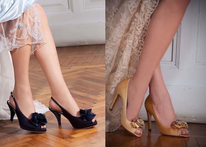 Scarpe sposa colorate 2016