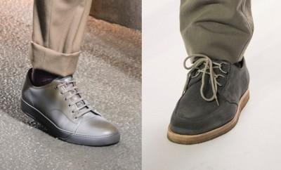 abbinare scarpe uomo grigie
