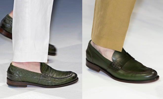 mocassini verdi uomo estate 2016
