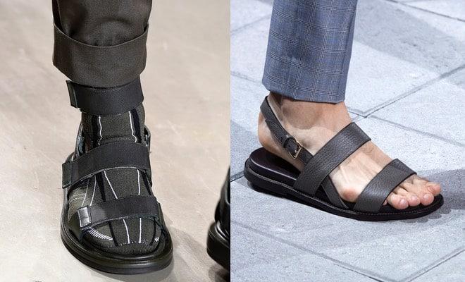 sandali uomo Brioni Calvin Klein