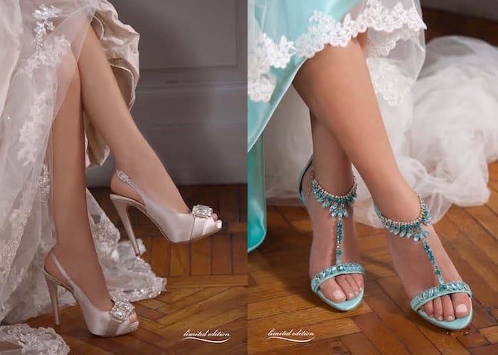 scarpe da sposa Penrose 2016