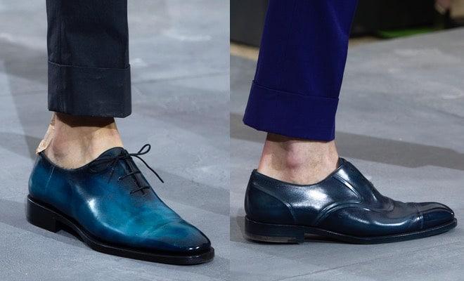 Berluti scarpe blu