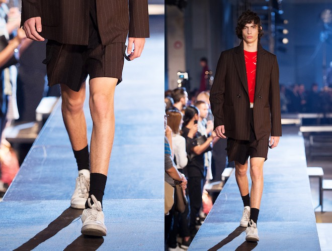 Raf Simons scarpe vestiti uomo 2016