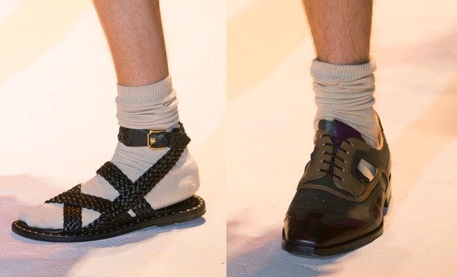 Scarpe estive maschili Versace
