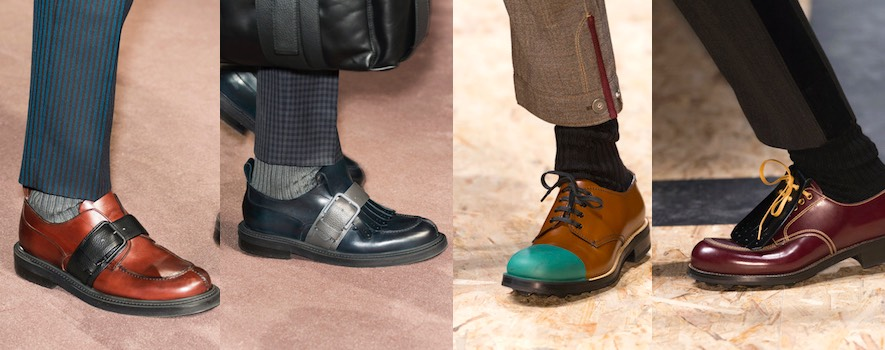Uomo scarpe Canali e Prada