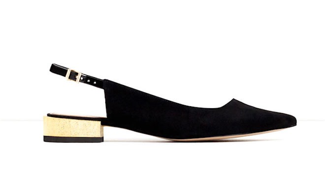 Zara scarpe donna basse aperte dietro
