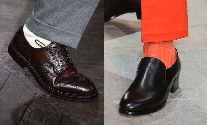 paulsmith scarpe calze uomo