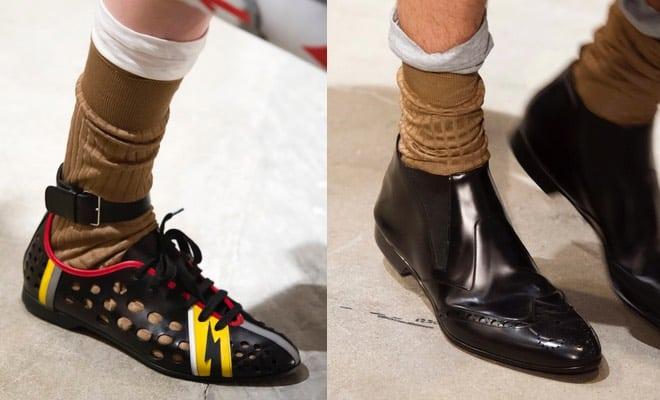 prada uomo scarpe estate