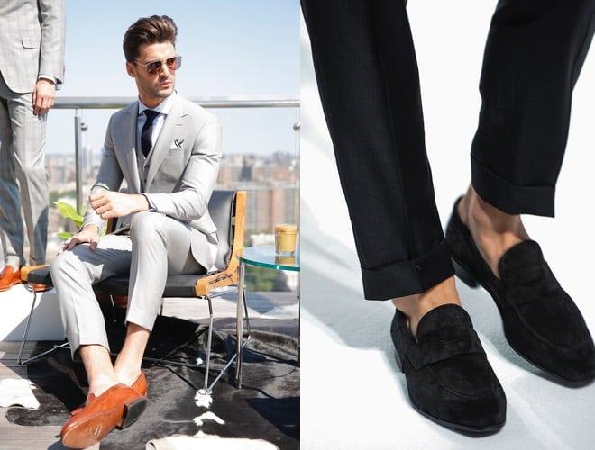 uomo scarpe estive eleganti