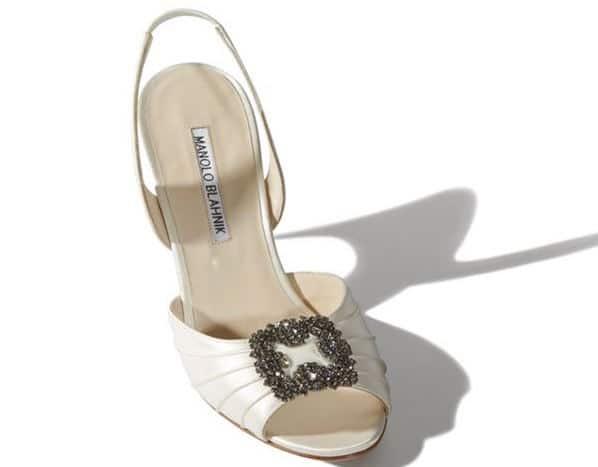 Manolo Blahnik sandali sposa