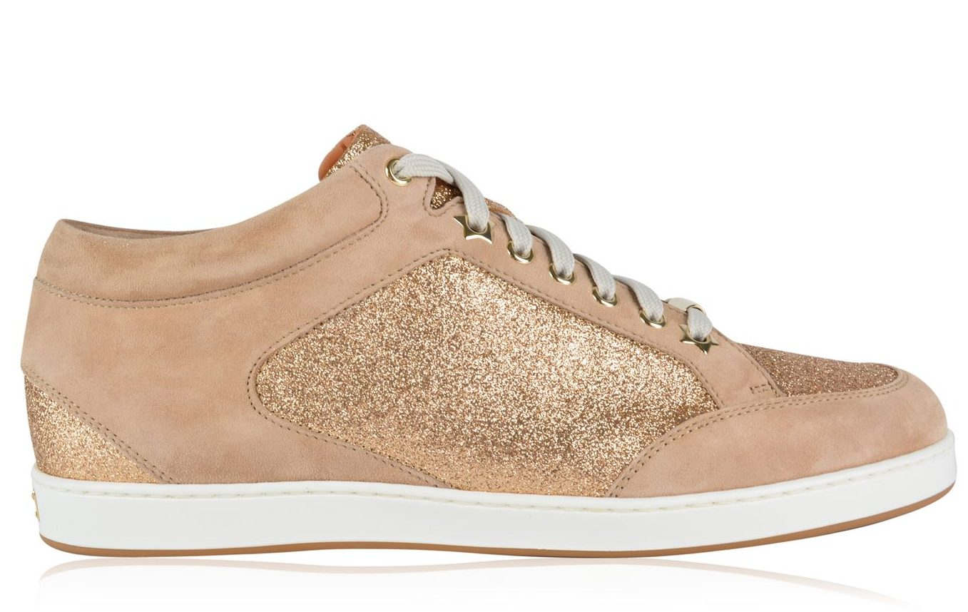 Jimmy Choo Miami Low Top Trainers