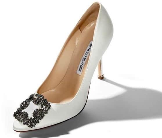 Manolo Blanhnik scarpe sposa