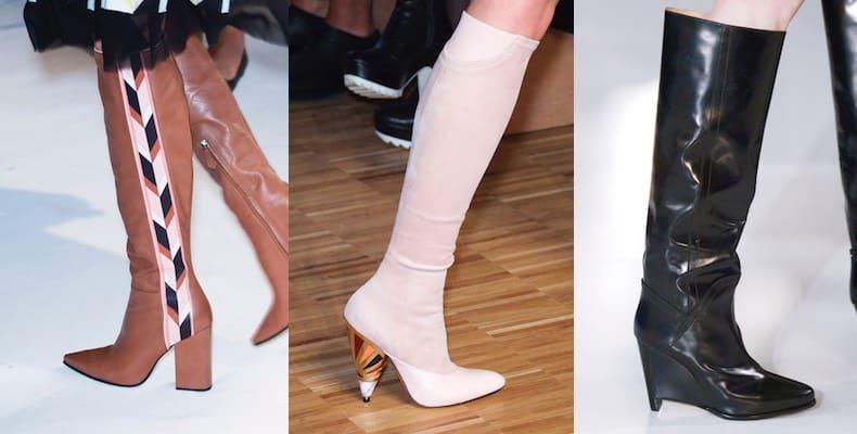 stivali moda donna autunno inverno 2016-2017