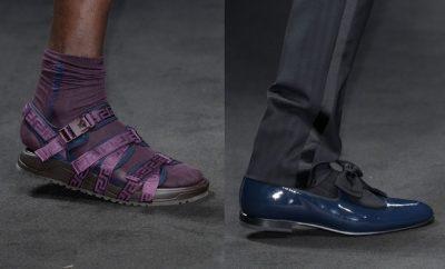 Versace uomo scarpe primavera estate 2017