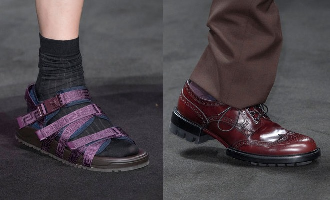 Versace uomo scarpe p-e 2017