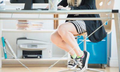 scarpe ginnastica ufficio