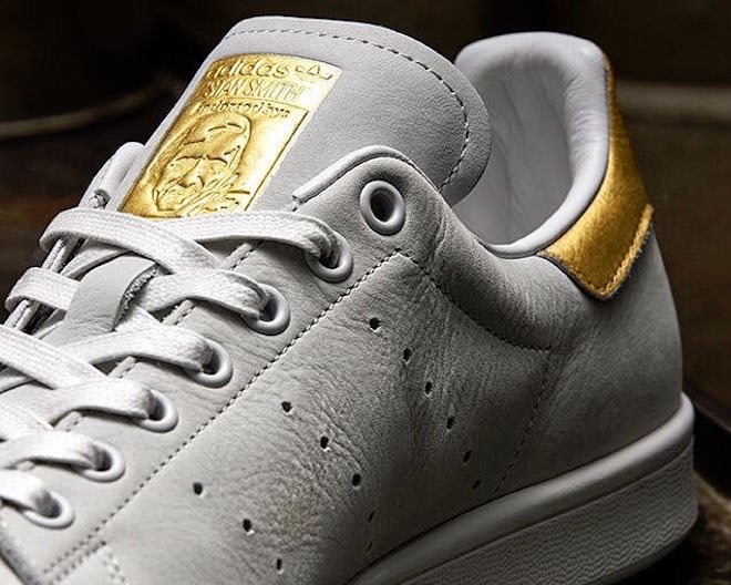 Adidas Stan Smith uomo oro 24 carati