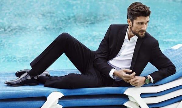 scarpe e abito uomo eleganti