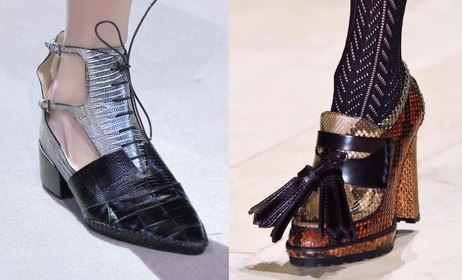 Le tendenze scarpe donna inverno 2016 - 2017. Foto - Pagina 18 di 19 -  Scarpe Alte - Scarpe basse 54c2e4f16b4
