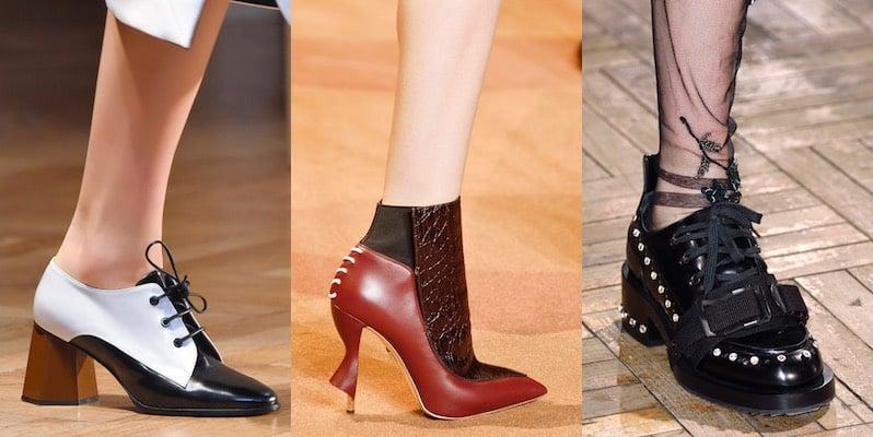 Le tendenze scarpe donna inverno 2016 2017. Foto Scarpe
