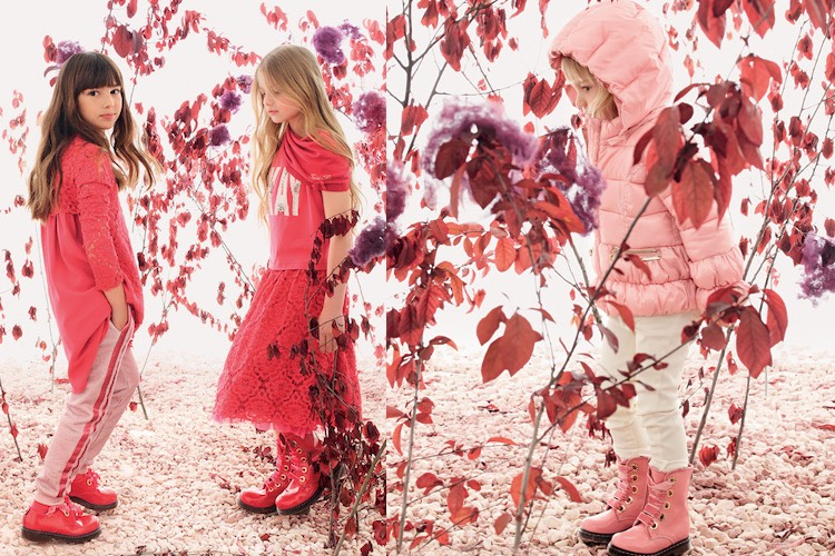 the latest 6e1ff 193c8 TWIN-SET bambina autunno inverno 2016-2017. Catalogo foto e ...