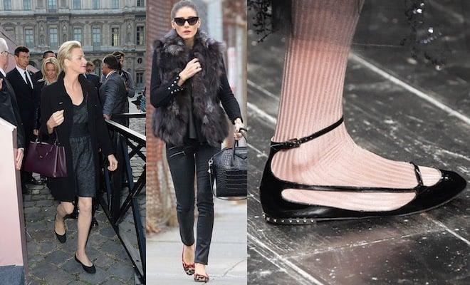 nuovi stili prese di fabbrica comprare in vendita Come abbinare le ballerine in inverno - Scarpe Alte - Scarpe ...