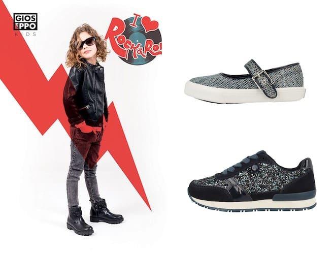 03949e1926c1c6 Dalle scarpe sportive alle francesine agli scarponcini, ballerine e stivali  la bella collezione scarpe bambina del catalogo di Gioseppo autunno inverno  ...