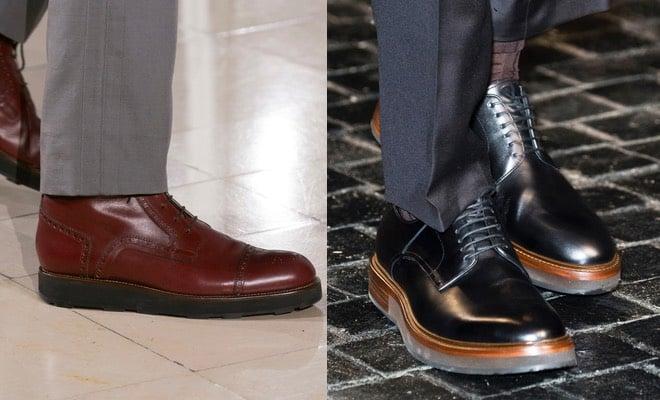 scarpe uomo invernali 2017 tendenze