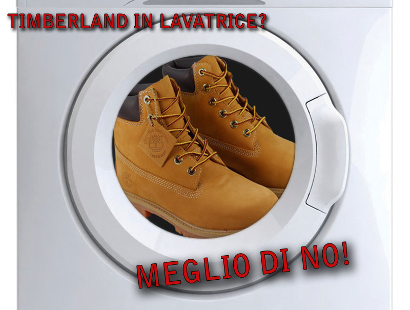 timberland-in-lavatrice