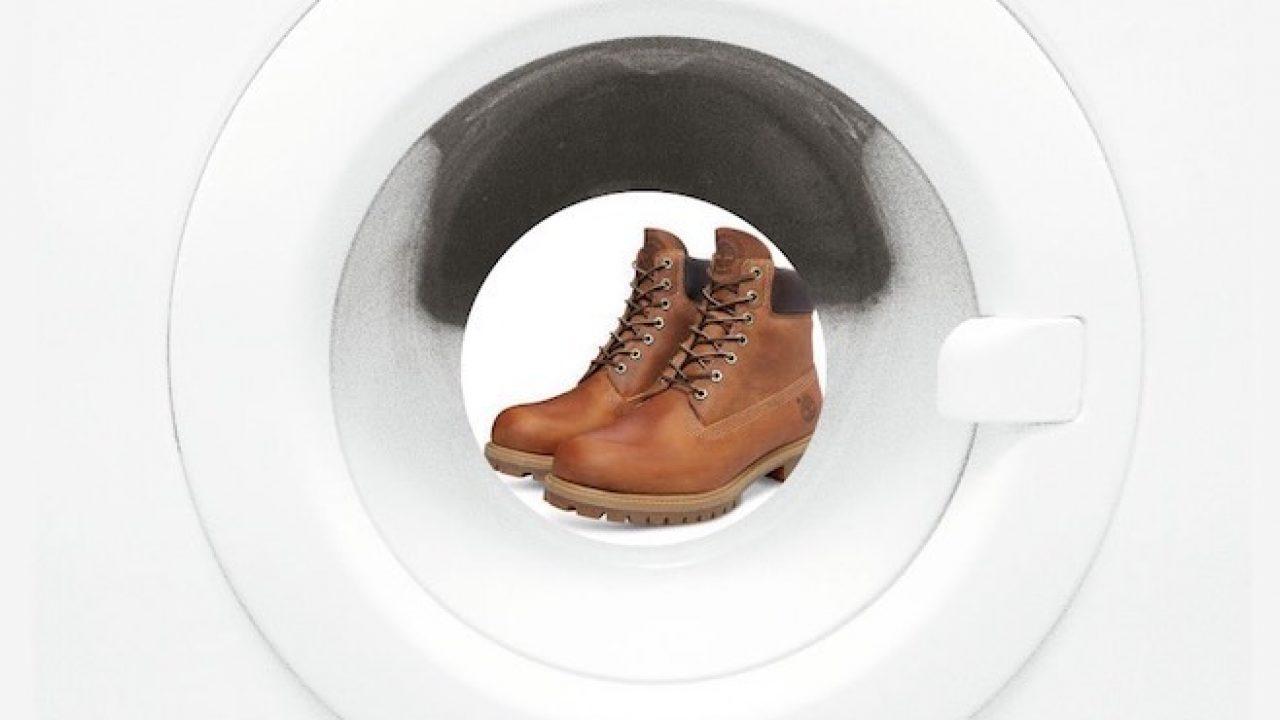 Lavare le Timberland in lavatrice. Si può? Come fare