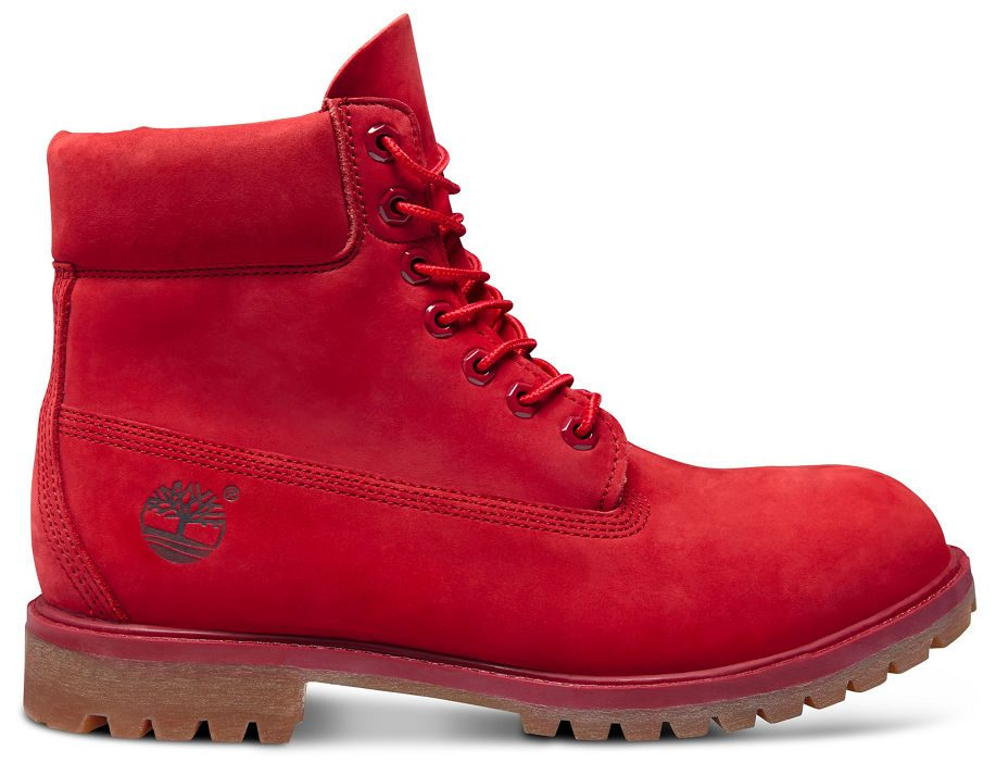 timberland donna rosse
