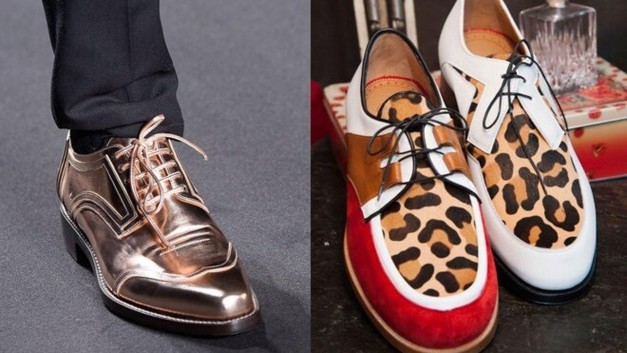 nuovo stile e66ce 724ed Scarpe eccentriche da uomo, eleganza e fantasia - Scarpe ...