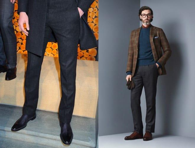 Popolare Pantalone grigio, meglio scarpe nere o scarpe marroni? - Scarpe  VM93