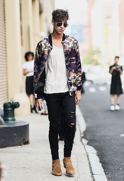 Street Style -New York uomo