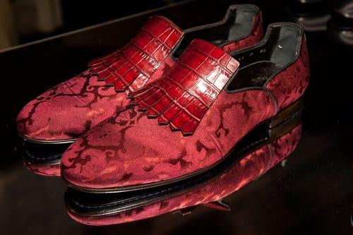 santoni-scarpe rosse uomo