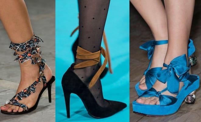 Le scarpe che vanno di moda a Parigi primavera estate 2017 - Scarpe ... d75beb6c194