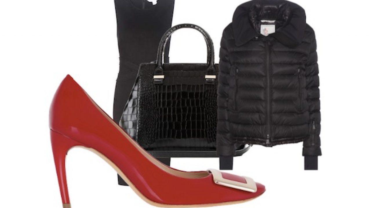 info for 8cd1c d4938 Come abbinare un vestito nero alle scarpe rosse - Scarpe ...