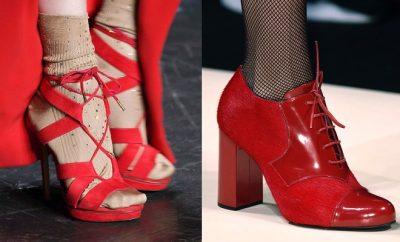 scarpe-rosse-sandali-calze-calzini