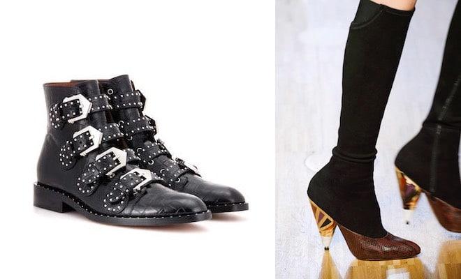 Stivali Givenchy. Le proposte per l inverno 2017. Nuovi modelli e ... 6a01bf7d347