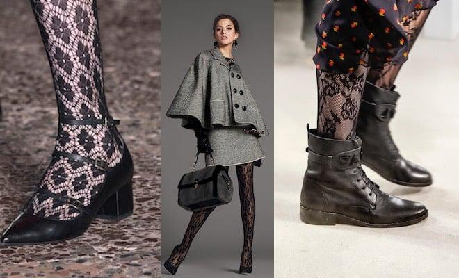 Come abbinare le calze di pizzo  trucchi e consigli dalla moda ... ca84c8b8f90