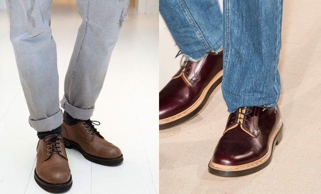 Che scarpe mettere sotto jeans da uomo in estate e in inverno  Solo  sneakers e scarpe sportive  No. Eccovi 13 idee per abbinare i jeans alle scarpe  marroni ... 71a065d9789