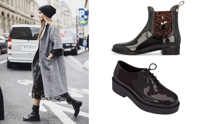 Che scarpe mettere quando piove  Non solo stivaloni da pioggia 5618dded1f7