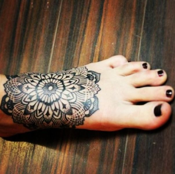 Feet Tattoos Tattoo S Idea Mandala Tattoo S Beauty: Tatuaggi Piede E Caviglia: 25 Idee Per Donne