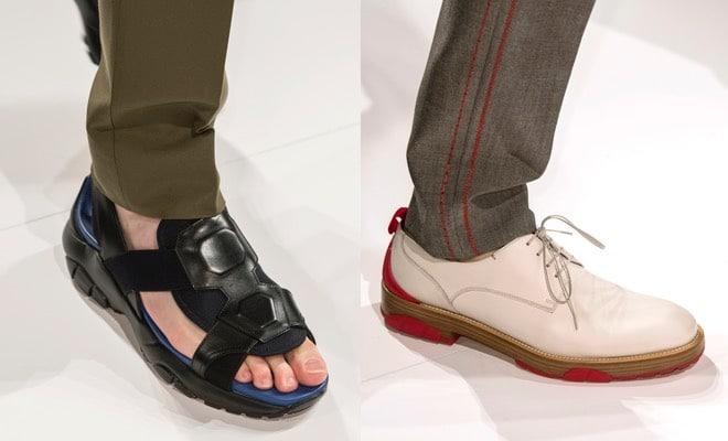 Ferragamo uomo  scarpe stringate bianche e rosse 8ca52a9aa50