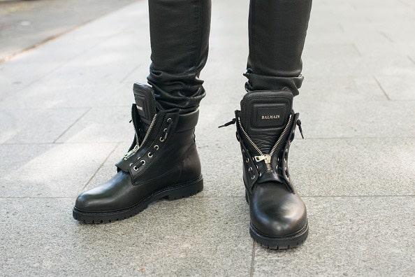 Loris Karius scarpe balmain