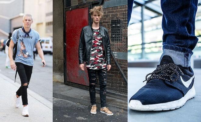01a5bdf45a Nike e jeans: l'equazione perfetta. Ma sicuri sia facile abbinarle così  come ci mostrano rapper, attori, modelli o uomini dello street style? Non  proprio.
