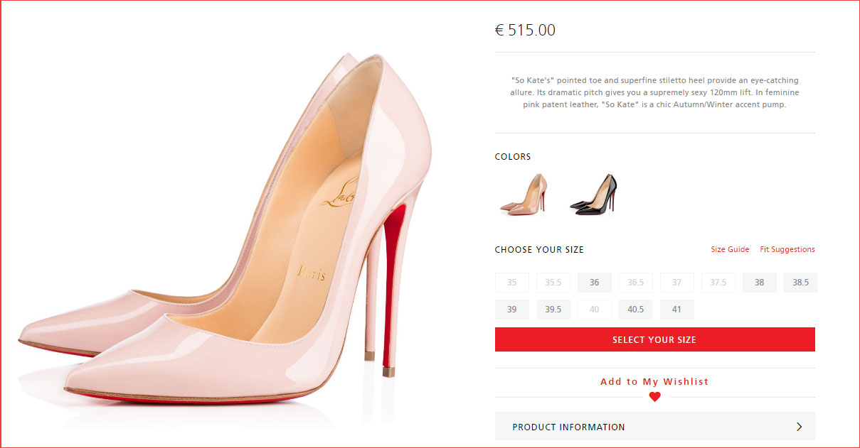 scarpe louboutin online outlet