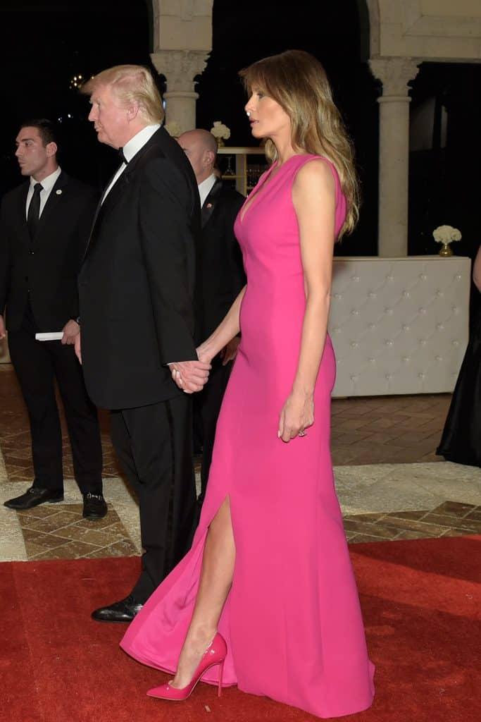 Una Suola Rossa Alla Casa Bianca Melania Trump E Le