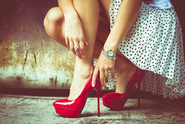 online store d95de ecfcd Rosso passione: 10 frasi sulle scarpe rosse - Scarpe Alte ...